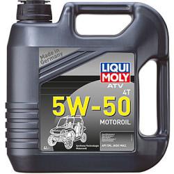Масло четырехтактное Liqui Moly ATV 4T Motoroil 5W-50 (4 л.) 20738