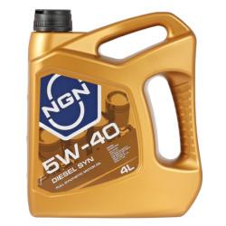 Моторное масло NGN Diesel Syn 5W-40 (4 л.) V172085330