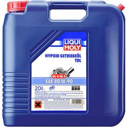 Трансмиссионное масло Liqui Moly Hypoid-Getriebeoil TDL 80W-90 (20 л.) 4218