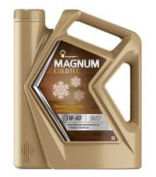 Моторное масло Rosneft Magnum Coldtec 5W-40 (5 л.) 40813850