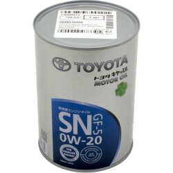 Моторное масло Toyota SN 0W-20 (1 л.) 08880-10506
