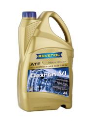 Трансмиссионное масло Ravenol ATF Dexron VI (4 л.) 1211105-004-01-999