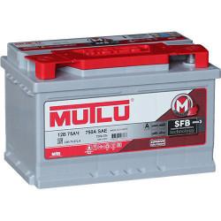 Аккумулятор Mutlu SFB M3 6СТ-75.0 12V 75Ah 750A 278x175x190 о.п. (-+) L375072А