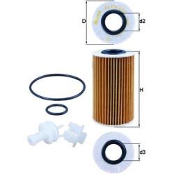 Масляный фильтр Mahle-Knecht OX554D2