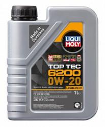 Моторное масло Liqui Moly Top Tec 6200 0W-20 (1 л.) 20787