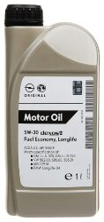 Моторное масло GM Dexos2 5W-30 (1 л.) 1942000 (EC)