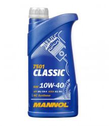 Моторное масло Mannol 7501 Classic 10W-40 (1 л.) 1100