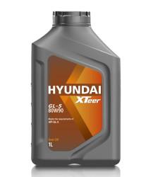 Трансмиссионное масло Hyundai (Kia) Xteer Gear Oil GL-5 80W-90 (1 л.) 1011017