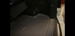 Коврик багажника Novline GREAT WALL Hover H3, 2010-, кроссовер (полиуретан) NLC5909B13