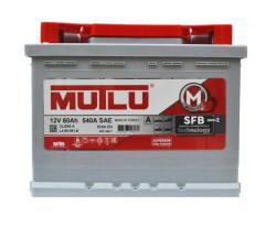 Аккумулятор Mutlu SFB M2 6СТ-60.1 12V 60Ah 540A 242x175x190 п.п. (+-) L260051В