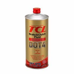 Тормозная жидкость TCL DOT 4 (1 л.) 00833