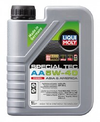 Моторное масло Liqui Moly Special Tec AA Diesel 5W-40 (1 л.) 21330