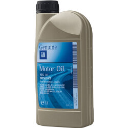 Моторное масло GM Dexos2 5W-30 (1 л.) 95599403 (Россия)