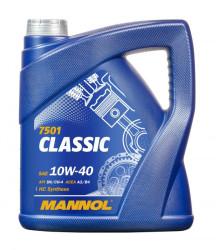 Моторное масло Mannol 7501 Classic 10W-40 (4 л.) 1101