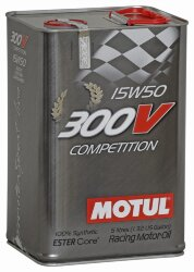 Моторное масло Motul 300V Competition 15W-50 (5 л.) 103920