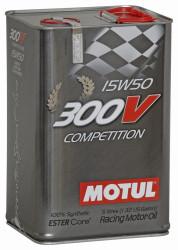 Моторное масло Motul 300V Competition 15W-50 (5 л.) 103920