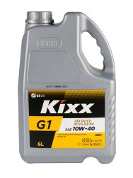 Моторное масло Kixx G1 A3/B4 10W-40 (6 л.) L5311360E1