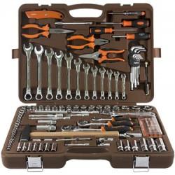 Набор инструмента Ombra 1/4, 3/8, 1/2DR, 131 предмет OMT131S