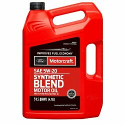Моторное масло Ford Motorcraft 5W-20 Synthetic Blend (5 л.) XO-5W20-5Q3SP