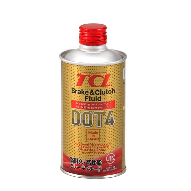 Тормозная жидкость TCL DOT 4 (0,355 л.) 00840