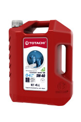 Моторное масло Totachi Niro HD 5W-40 (4 л.) 4589904927386