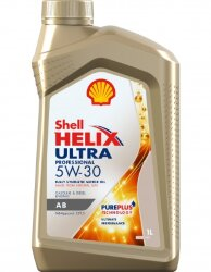 Моторное масло Shell Helix Ultra Professional AB 5W-30 (1 л.) 550040129