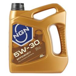 Моторное масло NGN Efficiency 5W-30 (4 л.) V172085348