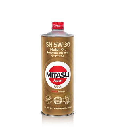 Моторное масло Mitasu MJ-120 Motor Oil SN 5W-30 (1 л.) MJ1201