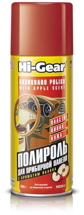 Hi-Gear Dashboard Polish Cockpit Cure Apple Полироль приборной панели (0,28 л.) HG5611