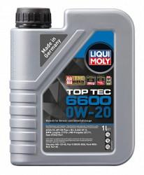 Моторное масло Liqui Moly Top Tec 6600 0W-20 (1 л.) 21410