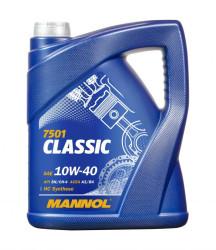 Моторное масло Mannol 7501 Classic 10W-40 (5 л.) 1155