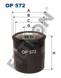 Фильтр масляный Filtron OP572