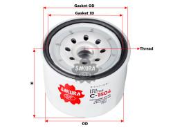 Фильтр масляный Sakura C1504