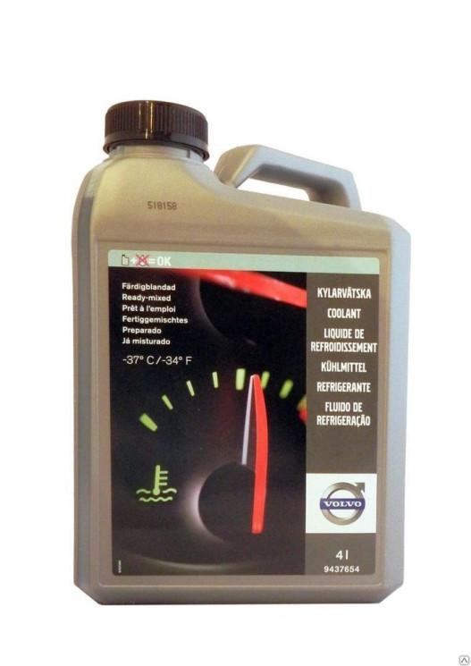 Охлаждающая жидкость Volvo (4 л.) 9437654