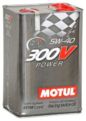 Моторное масло Motul 300V Power 5W-40 (5 л.) 109518