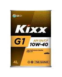 Моторное масло Kixx G1 10W-40 (4 л.) L531444TE1