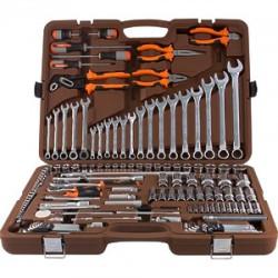 Набор инструмента Ombra 1/4, 3/8, 1/2DR, 141 предмет OMT141S