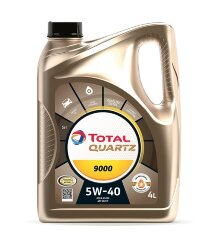 Моторное масло Total Quartz 9000 5W-40 (4 л.) 10950501