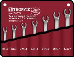 Набор ключей Thorvik 8-19 мм, 7 предметов W4S7TB