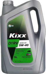 Моторное масло Kixx D1 RV C3 5W-40 (6 л.) L2013360E1