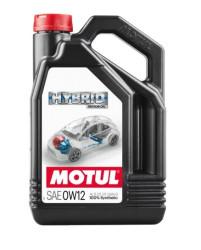 Моторное масло Motul Hybrid 0W-12 (4 л.) 107152