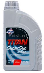 Моторное масло Fuchs Titan SuperSyn Longlife 5W-40 (1 л.) 601236631