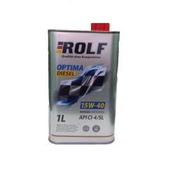 Моторное масло Rolf Optima Diesel 15W-40 CI-4/SL (1 л.) 322238