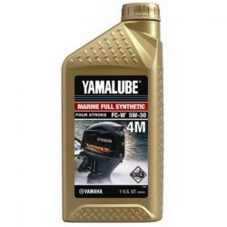 Масло четырехтактное Yamaha Yamalube Marine Full Synthetic Four Stroke 4M 5W-30 (1 л.) LUB-05W30-FC-12