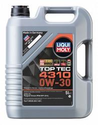 Моторное масло Liqui Moly Top Tec 4310 0W-30 (5 л.) 2362