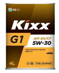 Моторное масло Kixx G1 5W-30 (4 л.) L531244TE1