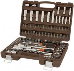 Набор инструмента Ombra 1/4, 3/8, 1/2DR, 108 предметов OMT108S