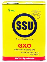 Моторное масло S-Oil SSU GXO 5W-30 SN (4 л.) DSNSSGXO5W30_04