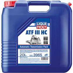 Трансмиссионное масло Liqui Moly ATF III HC (20 л.) 3965