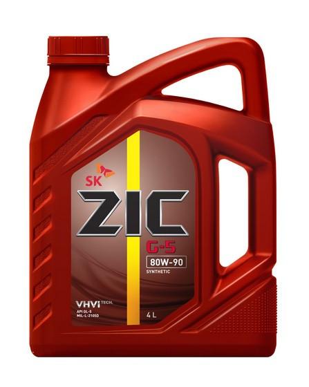 Трансмиссионное масло ZIC G-5 80W-90 (4 л.) 162633